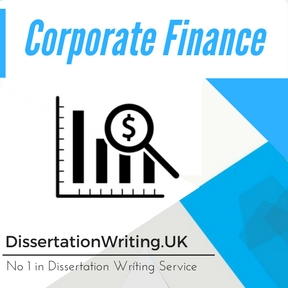 Corporate Finance Thesis Help