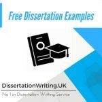Free Dissertation Examples