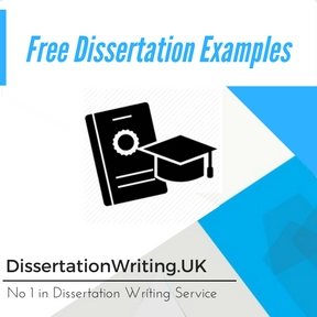 Free Dissertation Examples Writing Service