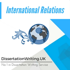 International Relations Dissertation Writing Service