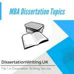 MBA Dissertation Topics