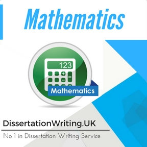 Mathematics Dissertation Writing Service