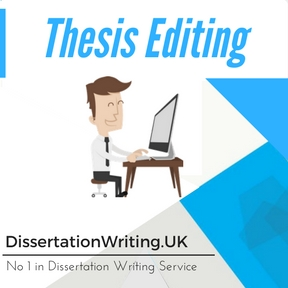 Thesis Editing Writing Services