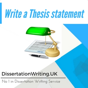 Write a Thesis statement Writing Service